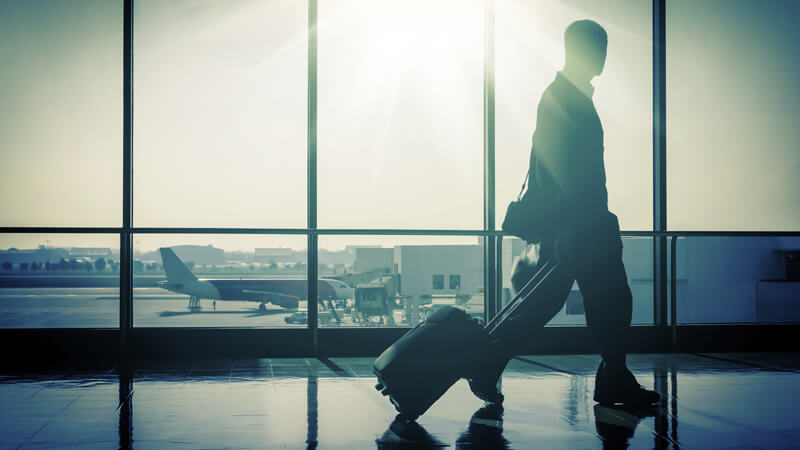 How to travel for work
