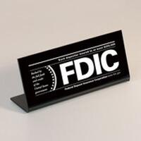 FDIC-plaque